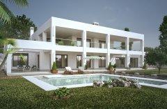 La actividad inicial del Estudio ha sido la realización de proyectos de viviendas unifamiliares tipo Villa para clientes privados.